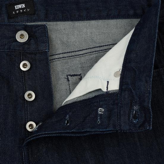 Мужские джинсы Edwin ED-80 Kingston Blue Denim 12 Oz Blue Rinsed
