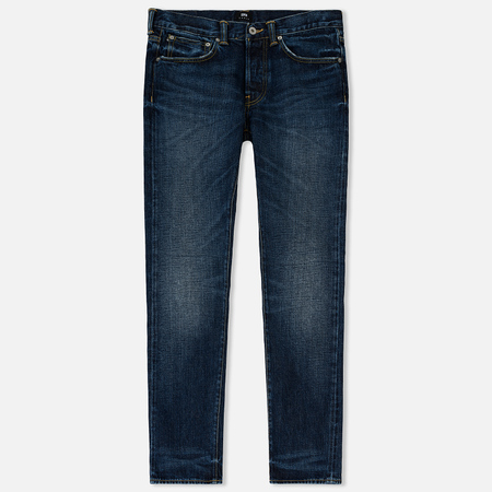 Мужские джинсы Edwin ED-80 Red Listed Selvage Denim 14 Oz Blue Contrast Clean Wash