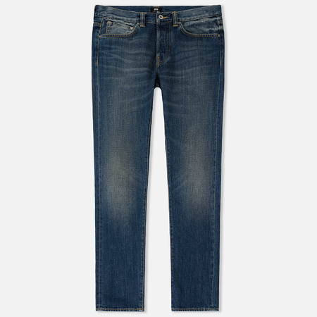 Мужские джинсы Edwin ED-80 Red Listed Selvage Denim 14 Oz Blue Satomi Wash