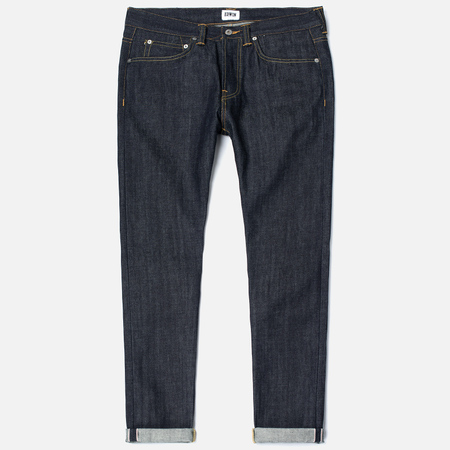 Мужские джинсы Edwin ED-80 Red Listed Selvage Denim 14 Oz Unwashed