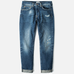 Мужские джинсы Edwin ED-80 Slim Tapered 63 Rainbows Selvage HR-7 Blue фото- 0