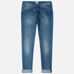 Мужские джинсы Edwin ED-80 Slim Tapered Compact Indigo 11.5 Oz Blue Mid Glint Use фото- 0