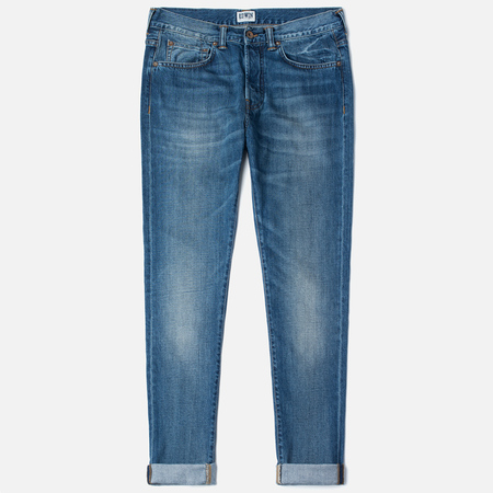 Мужские джинсы Edwin ED-80 Slim Tapered Compact Indigo 11.5 Oz Blue Mid Glint Use