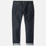 Мужские джинсы Edwin ED-80 Slim Tapered Japan Stretch Selvage Blue Raw State фото- 0