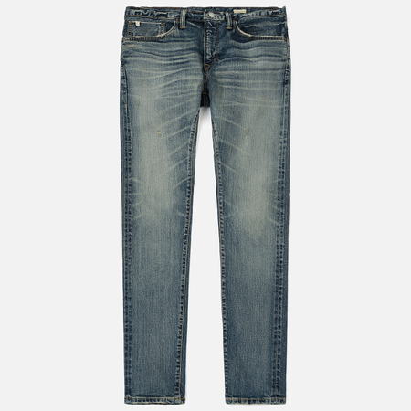 Мужские джинсы Edwin ED-80 Slim Tapered Nihon Menpu Japan Selvage Stretch Light Used