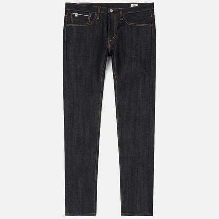 Мужские джинсы Edwin ED-80 Slim Tapered Nihon Menph Japan Selvage Stretch Raw State