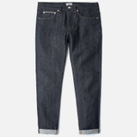 Мужские джинсы Edwin ED-80 Slim Tapered Red Listed Selvage Blue Unwashed фото- 0