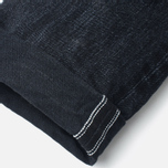 ED-80 Slim Tapered White Listed Selvage HR-9 Men's Jeans Black photo- 4