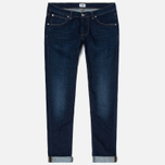 Мужские джинсы Edwin ED-85 CS Night Blue Denim 11 Oz Dark Trip Used фото- 0