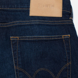 Мужские джинсы Edwin ED-85 CS Night Blue Denim 11 Oz Dark Trip Used фото- 3