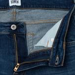 Мужские джинсы Edwin ED-85 CS Night Blue Denim 11 Oz Mid Trip Used фото- 2