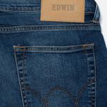 Мужские джинсы Edwin ED-85 CS Night Blue Denim 11 Oz Mid Trip Used фото- 3