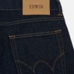 Мужские джинсы Edwin ED-85 CS Night Blue Denim 11 Oz Rinsed фото- 4