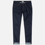 Мужские джинсы Edwin ED-85 Slim Tapered Low Crot CS Night Blue 11 Oz Blue Unwashed фото- 0