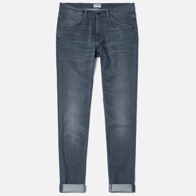 Мужские джинсы Edwin ED-85 Slim Tapered Low Crotch CS Stretch 11.5 Oz Grey Dark Trip Used