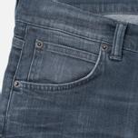 Edwin ED-85 Slim Tapered Low Crotch CS Stretch 11.5 Oz Men's Jeans Grey Dark Trip Used photo- 1