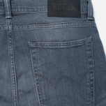 Мужские джинсы Edwin ED-85 Slim Tapered Low Crotch CS Stretch 11.5 Oz Grey Dark Trip Used фото- 3