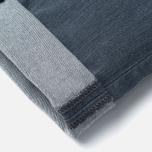 Мужские джинсы Edwin ED-85 Slim Tapered Low Crotch CS Stretch 11.5 Oz Grey Dark Trip Used фото- 4