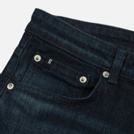 Мужские джинсы Edwin Modern Regular Tapered Blue Japanese Stretch Denim 11.5 Oz Blue Dark Used фото- 1