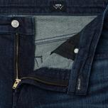 Мужские джинсы Edwin Modern Regular Tapered Blue Japanese Stretch Denim 11.5 Oz Blue Dark Used фото- 2