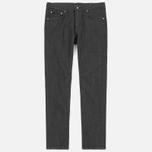 Мужские джинсы Edwin Modern Regular Tapered Grey Japanese Stretch Denim Grey Rinsed фото- 0
