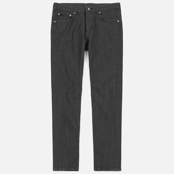 Мужские джинсы Edwin Modern Regular Tapered Grey Japanese Stretch Denim Grey Rinsed