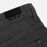 Мужские джинсы Edwin Modern Regular Tapered Grey Japanese Stretch Denim Grey Rinsed фото- 5