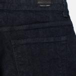 Мужские джинсы Edwin Modern Regular Tapered Japanese Stretch 11.5 Oz Blue Rinsed фото- 3