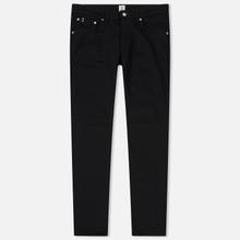 Мужские джинсы Edwin Modern Regular Tapered Kaihara Black Stretch Fabric 13 Oz Rinsed фото- 0