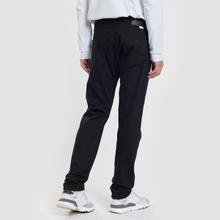 Мужские джинсы Edwin Modern Regular Tapered Kaihara Black Stretch Fabric 13 Oz Rinsed фото- 2
