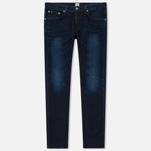 Мужские джинсы Edwin Modern Regular Tapered Kaihara Blue Stretch Fabric 13 Oz Dark Used фото- 0