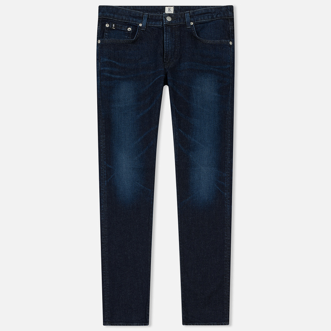 Мужские джинсы Edwin Modern Regular Tapered Kaihara Blue Stretch Fabric 13 Oz Dark Used