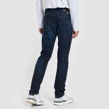 Мужские джинсы Edwin Modern Regular Tapered Kaihara Blue Stretch Fabric 13 Oz Dark Used фото- 2