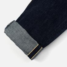 Мужские джинсы Edwin Regular Tapered Nihon Menpu Rainbow Selvage 13.5 Oz Blue Dark Used фото- 5