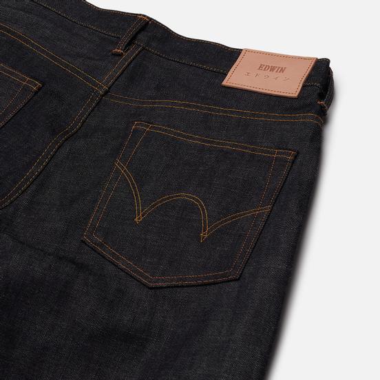 Мужские джинсы Edwin Regular Tapered Nihon Menpu Rainbow Selvage 13.5 Oz Blue Raw State