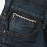 Edwin SEN Japan Stretch Skinny Selvage Men's Jeans Black Dark Used photo- 1
