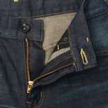 Edwin SEN Japan Stretch Skinny Selvage Men's Jeans Black Dark Used photo- 2