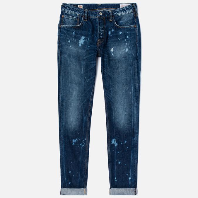 Evisu 2010 Slim Fit Fade Out Seagull Selvedge Denim Men's Jeans Ecru