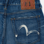 Мужские джинсы Evisu 2010 Slim Fit Seagull Selvedge Denim Ecru фото- 3