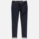 Мужские джинсы Evisu 2010 Slim Fit Seagull Selvedge Raw Denim Ecru фото- 0