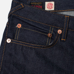 Мужские джинсы Evisu 2010 Slim Fit Seagull Selvedge Raw Denim Ecru фото- 1