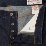 Мужские джинсы Evisu 2010 Slim Fit Seagull Selvedge Raw Denim Ecru фото- 2