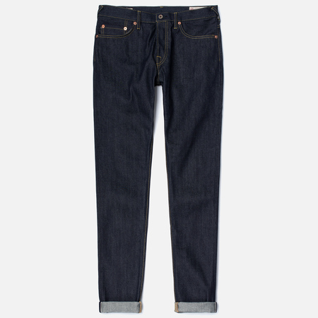 Evisu 2017 Carrot Fit Seagull Selvedge Denim Men's Jeans Ecru