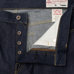 Мужские джинсы Evisu 2017 Carrot Fit Seagull Selvedge Denim Ecru фото- 2