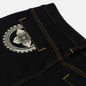 Мужские джинсы Evisu Evisukuro Embroidered Seagull & Kamon 3D 12.5 Oz Black фото - 3
