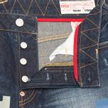 Мужские джинсы Evisu Patch Work Washed Indigo фото- 4
