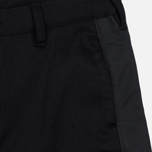Мужские джинсы Evisu Side Panelled Cargo Jogger Fit Seagull Pockets Black фото- 3