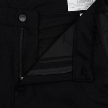 Мужские джинсы Evisu Side Panelled Cargo Jogger Fit Seagull Pockets Black фото- 1