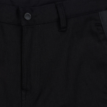 Мужские джинсы Evisu Side Panelled Cargo Jogger Fit Seagull Pockets Black фото- 2