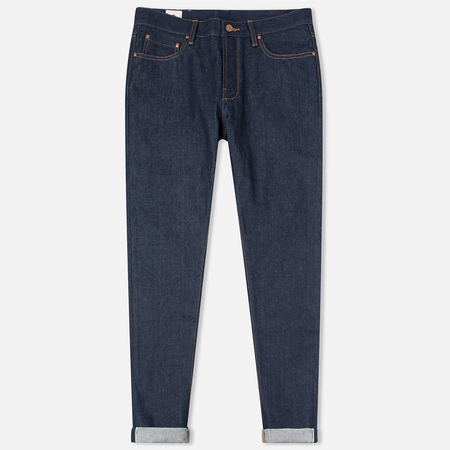 Мужские джинсы Han Kjobenhavn Tapered 17 Oz Dark Blue Raw Unwashed